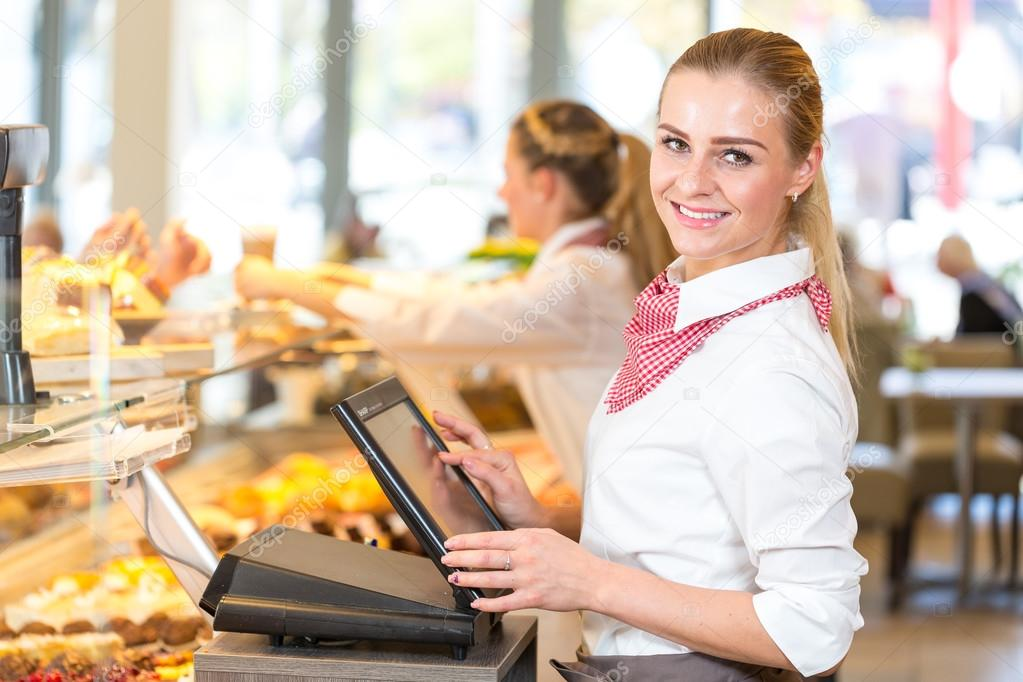 POS System in Shop